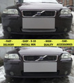 Mesh grille case for Volvo S60 I 2004-2010 car styling molding decoration protection cover stainless