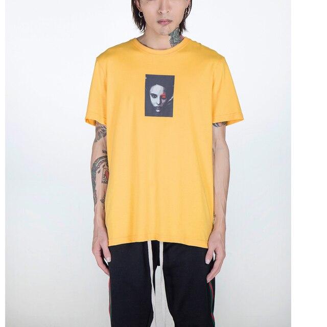43244271 2018 High Quality printed fashion t-shirts men funny summer new arrival  cotton Vintage Rock Punk Hip Hop Vintage t shirt