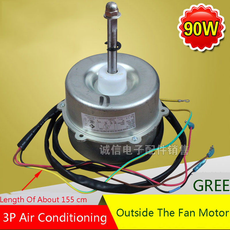 Brand New Original 90W Air Conditioner 3P Outdoor Motor Air Conditioner Parts air conditioner outdoor device fan blade 401x115mm