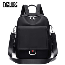 DIZHIGE Brand Large Capacity Solid Waterproof Oxford Women Backpack High Quality School Bags For Multifunction Travel Bag
