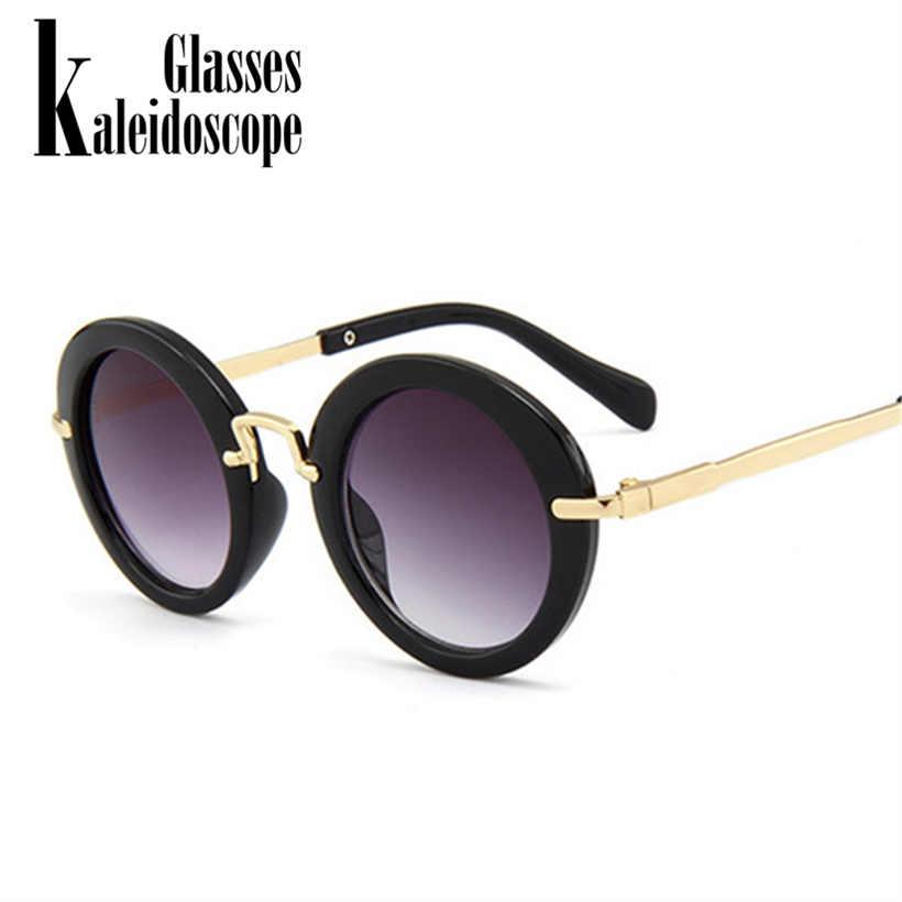 da7d94ad819c Kaleidoscope Glasses Kids Sunglasses Boys Brand Children Round Sun Glasses  For Girls Baby Goggles UV400 Eyewear