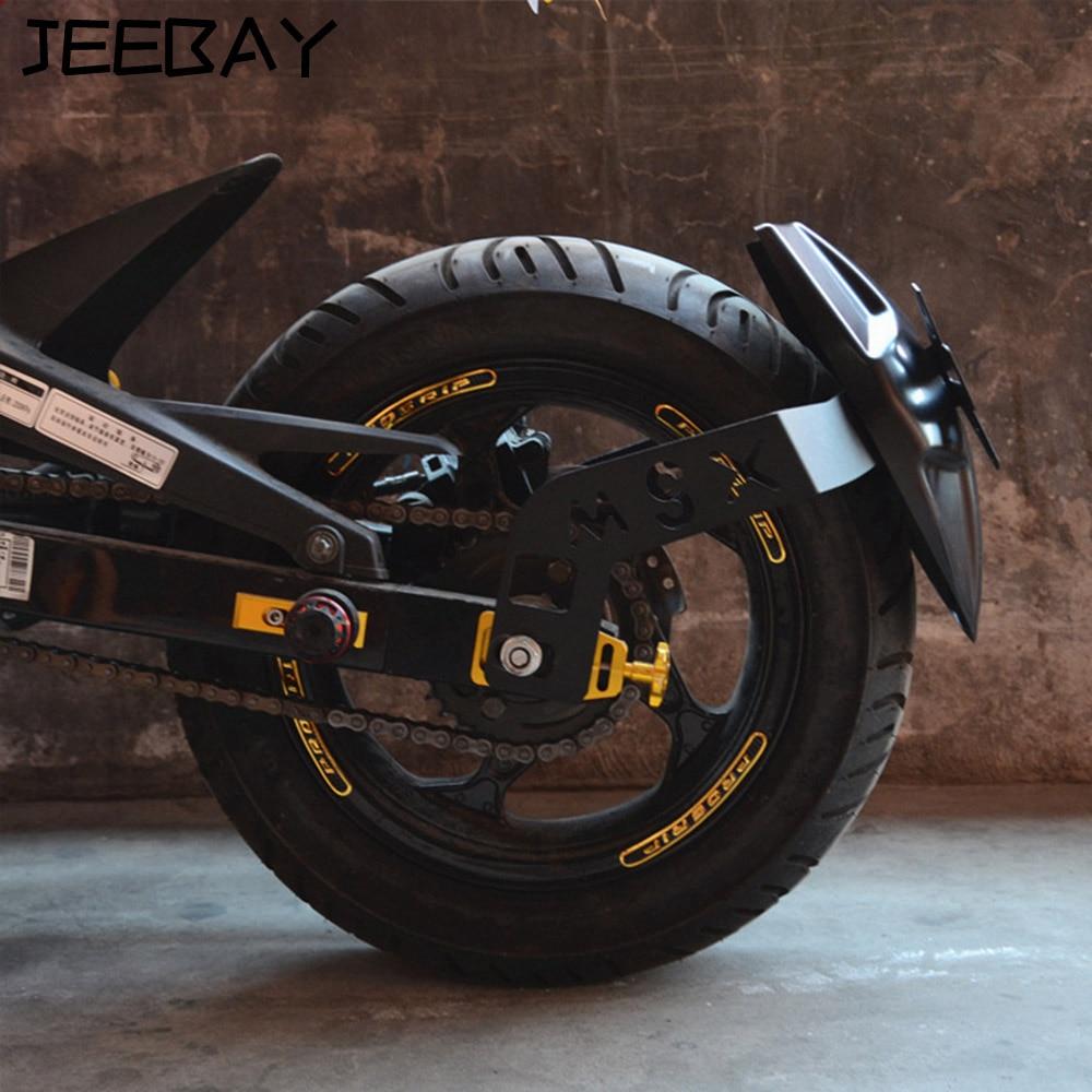 Motorcycle Rear Fender Motorbike Registration Plate Holder Racing Frames Fittings Motocross Accessories For Honda MSX125/SF
