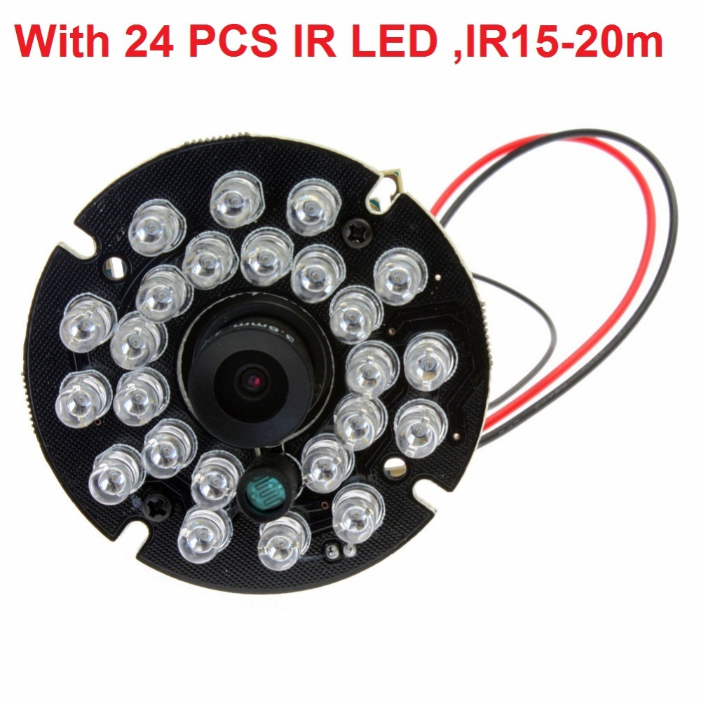 640*480P OV7725 IR cut & IR LED night vision infrared wide angle mini cmos module camera usb ir camera module universal ir infrared receiver module black 20 pcs
