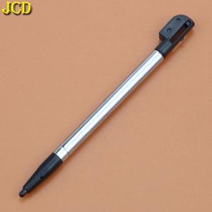 Image 4 - JCD 1 sztuk 3 kolor chowany metal rysik do ekranu dotykowego zestaw długopisów dla Nintend dla Nintend DS Lite NDSL akcesoria do gier