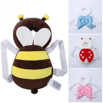 1 pc Top Sale Baby Head protection pad Toddler headrest pillow baby neck Cute wings nursing drop resistance cushion baby protect