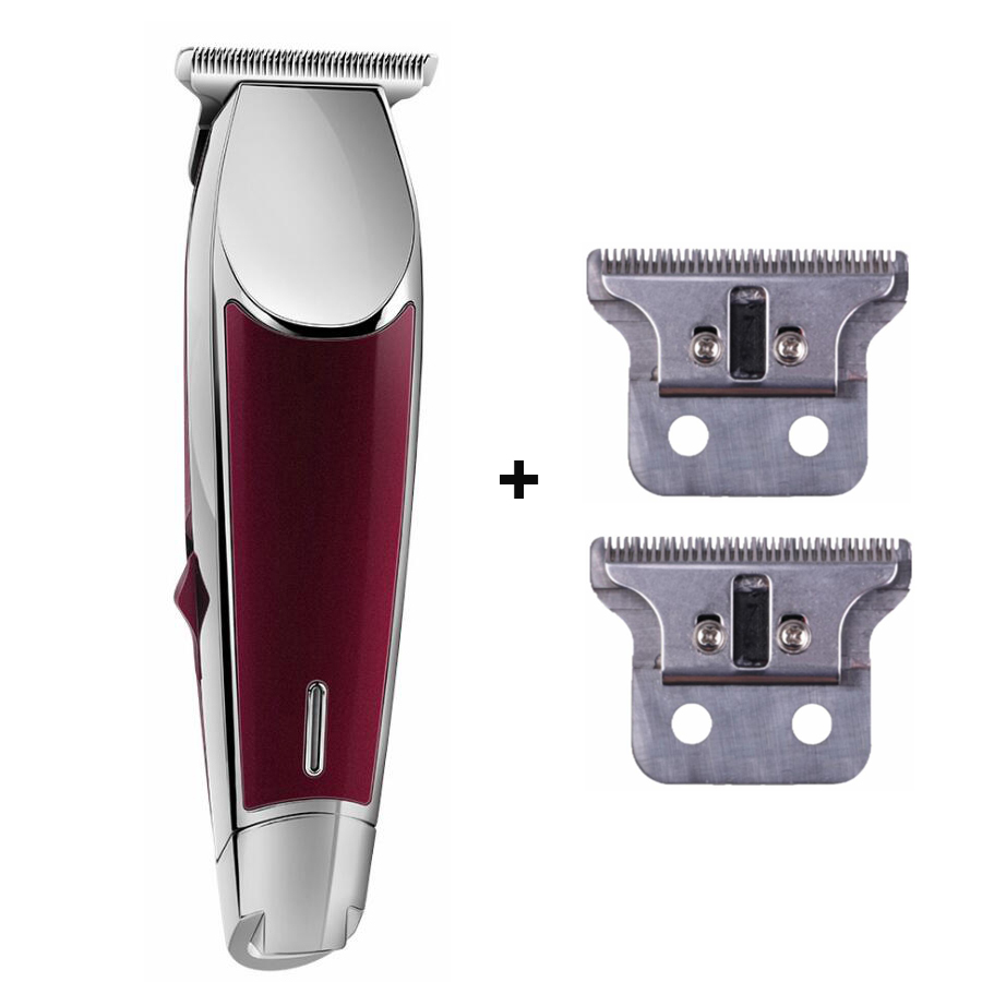 Electric Hair Clipper for Salon Professional Rechargeable Hair Trimmer Stainless Steel Blade Hair Cutting Machine Close