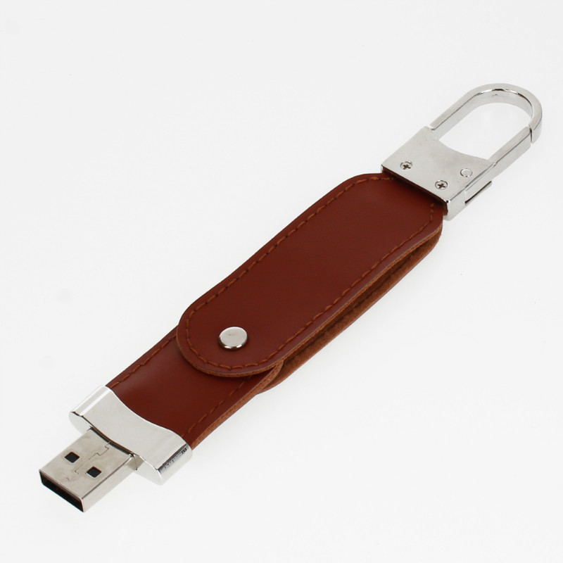 Image 5 - New Usb Flash Drive 4GB 8GB 16GB Creative Metal Leather Pen Drive 32GB 64GB 128GB Pendrive High Speed Usb Stick Free Custom Logo-in USB Flash Drives from Computer & Office
