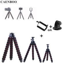 Caenboo Мини Гибкий штатив Осьминог Портативный крепление 165-280 мм для Canon Nikon Sony GoPro Xiaomi SJ Камера для iphone Samsung