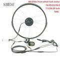 Когда-нибудь e-велосипед конверсионный комплект с дисплеем LCD5 весь водонепроницаемый кабель легко установить 48V350W EBIKE передний мотор эпицен...