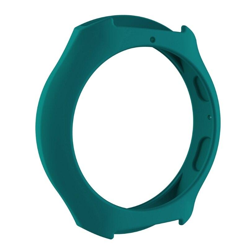 Мягкий силиконовый защитный чехол для SamsungGalaxy gear S2 SM-R720 и SM-R730 - Цвет: GN