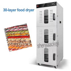 30 Layers Commercial Fruit Food Dryer LT-95 Stainless Steel Fruit/ Vegetables/ Pet Meat Drying machine Electric Food Dehydrator