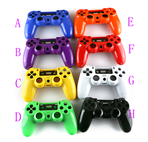 Image 2 - JDM 001 JDM 011 colorful Shell case with Button Kits for PS4 Playstation 4 Controller Housing Shell Case Cover