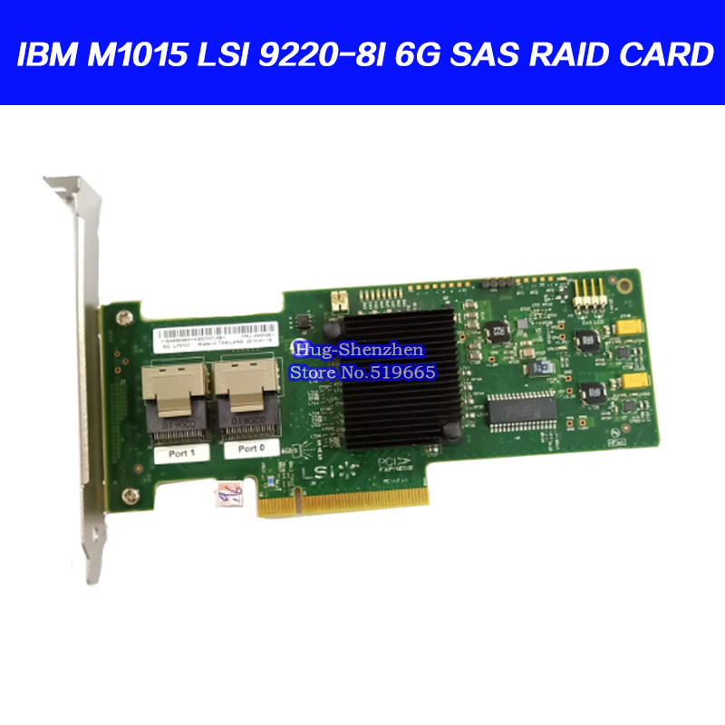 High Quality for IBM M1015 SAS2 SATA3 6G PCI e RAID Controller Card for 46M0861 LSI