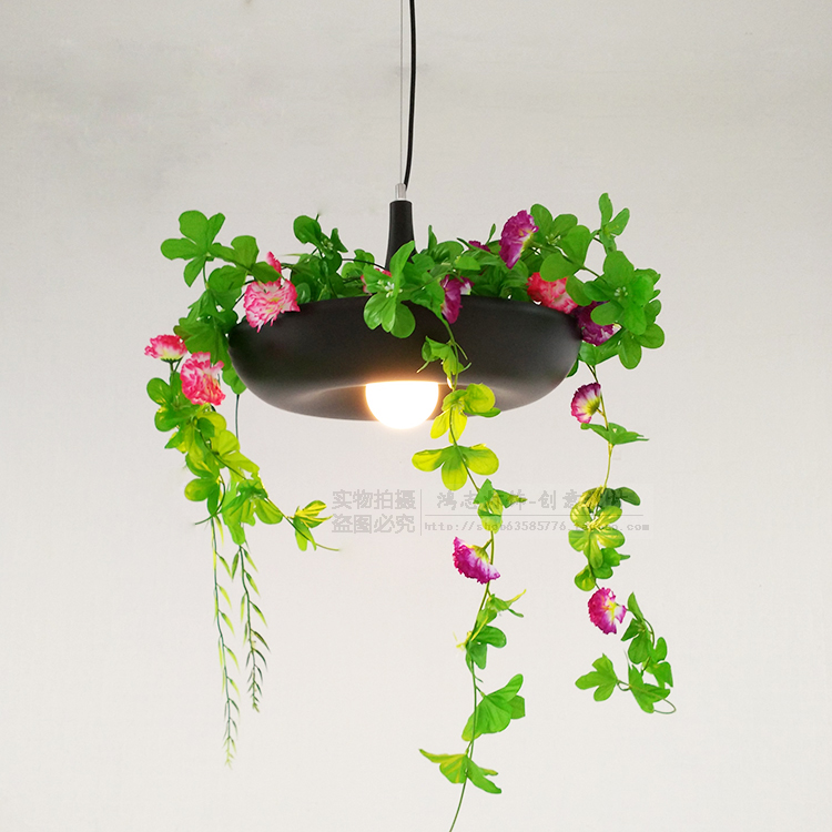 Nordic country 1Pc pendant lamp wind pot disk Babylon Babylon plant Pendant Lights pots hanging lamp смеситель для ванны vitra dynamic a40953exp
