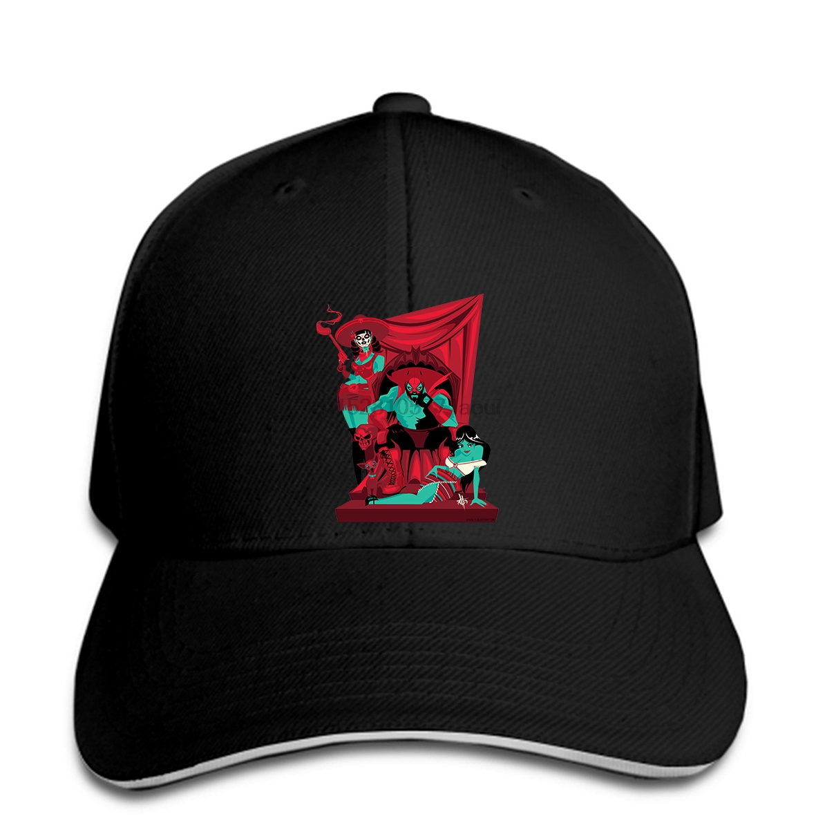 Baseball Cap Custom Printed Snapback Men Print Hat El Black Bat - Lucha Libre Women Baseball Caps Suitable For Men And Women Of All Ages In All Seasons