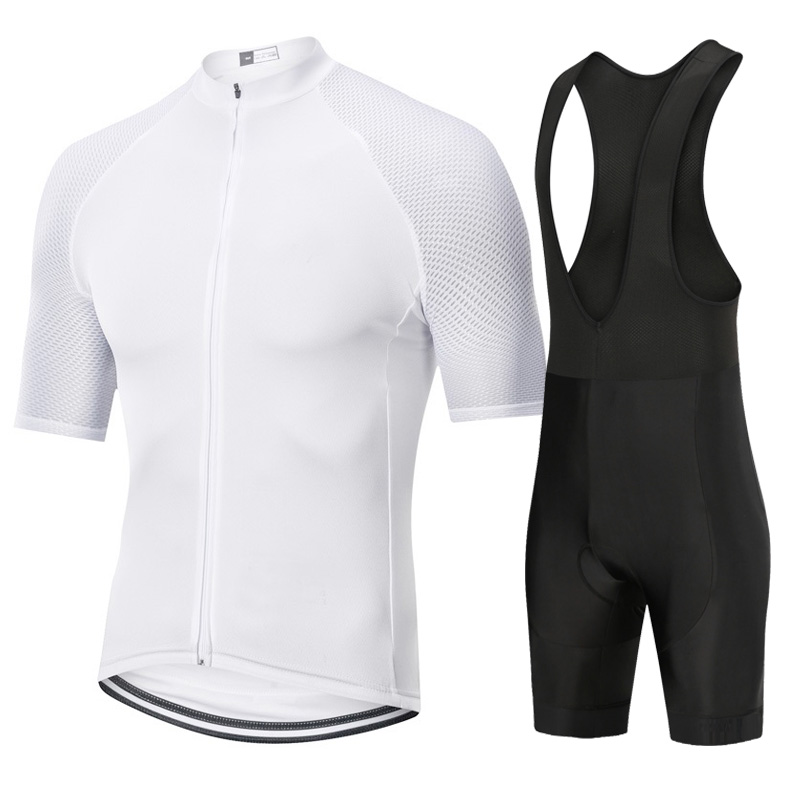 Bycicle cyclng jersey set 2019 Pro team summer bycicle mtb road bike short sleeve bib pants kits men roupa maillot ciclismo sets in Cycling Sets from Sports Entertainment