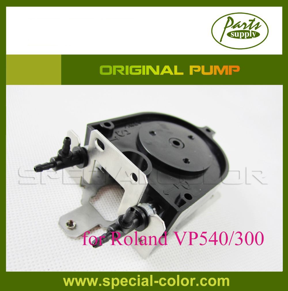 100% Original Roland VP540/300 printer Ink pump Solvent Pump (U Type pump) 300 400ml min 24v dc jyy brand big ink pump for solvent printer with free shipping cost by dhl