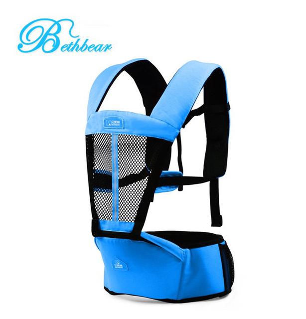 Bebê mochila transportadora nova ergonômico baby sling respirável multifuncional frente virada saco do bebê canguru 2 - 30 meses infantil envoltório