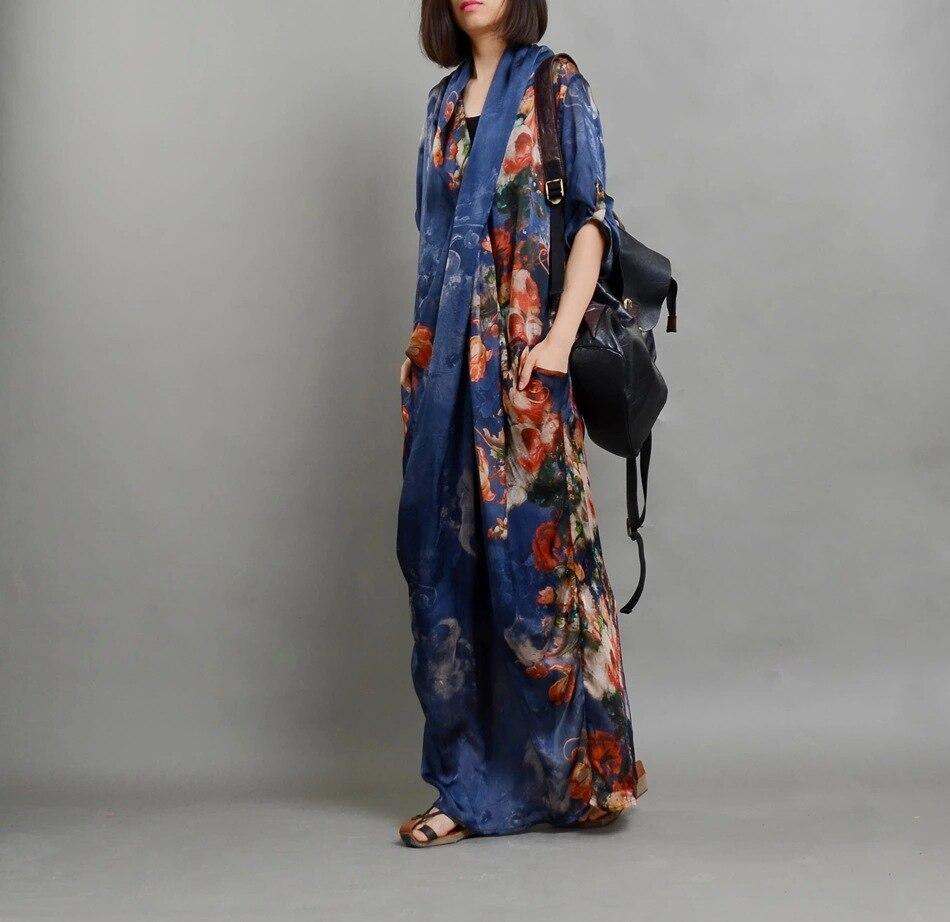 Robes Tailleur Femmes Lâche D'été Dames Costume Bleu Et 2019 L'extérieur À Mode Imprimées 2 Pièces Fourreau à L'intérieur Imprimé Robe qarFqgC