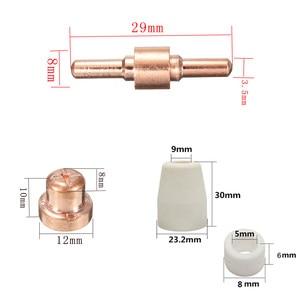 Image 3 - 75 pièces accessoires de coupe Plasma pour torche de coupe consommables KIT électrodes embouts buses ajustement CUT40 CUT50