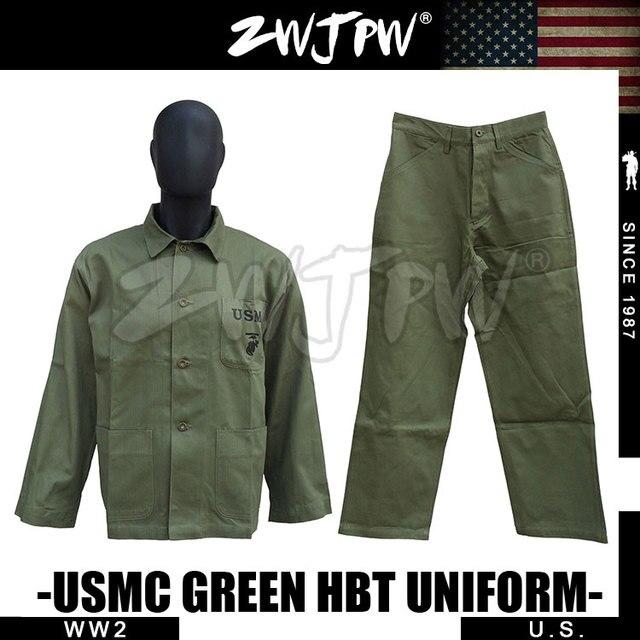 004644db WWII-ee-uu-USMC-verde-HBT-chaqueta-del-uniforme-camisa-y-pantalones-ee-uu-501104-omga.jpg_640x640.jpg