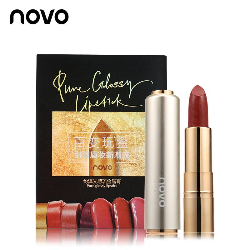 NOVO Brand 6Colors Gold Glossy Ерін Қаламы Макияжы - Макияж - фото 6