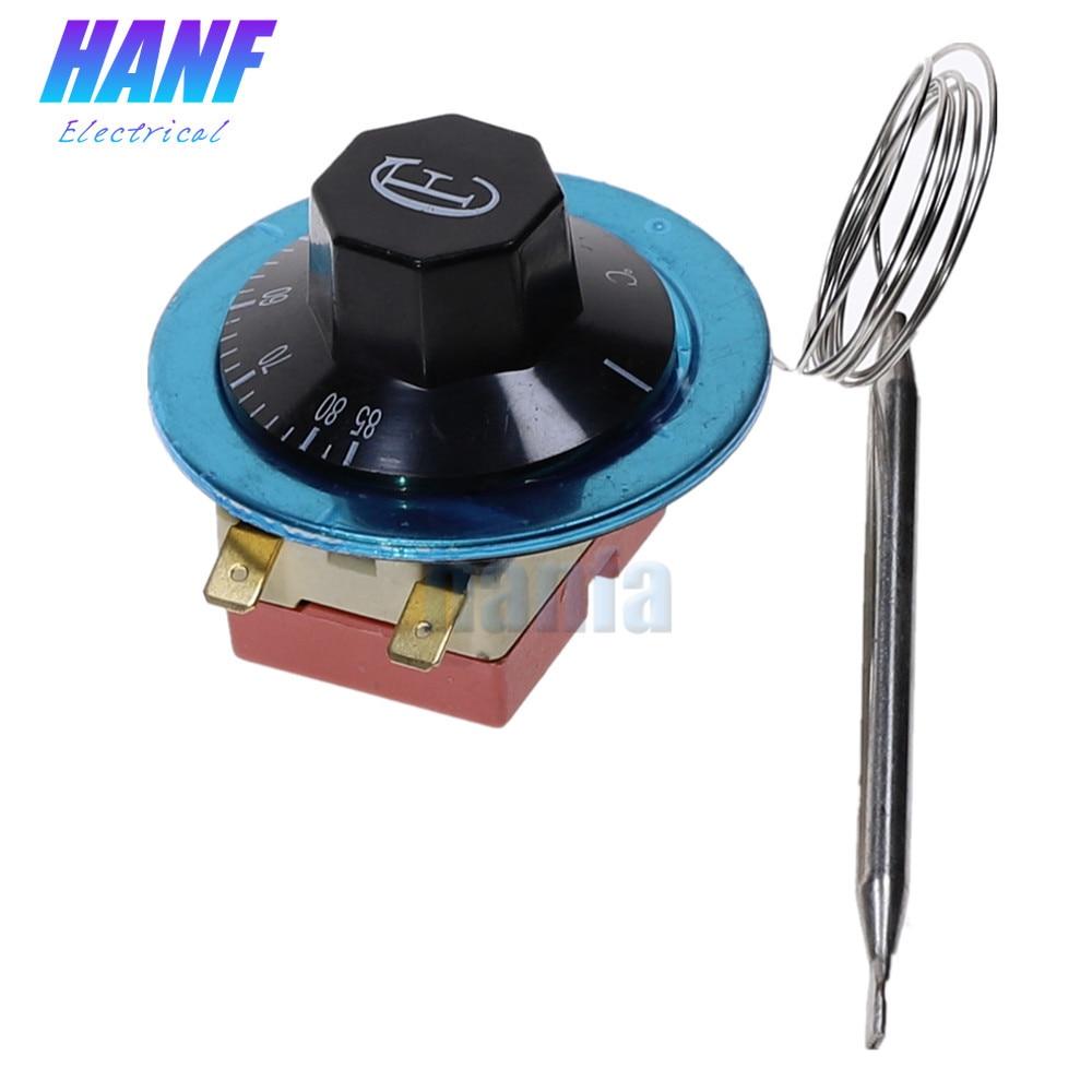 30-80 Celsius Degree Adjusting Temperature Controller Capillary Thermostat