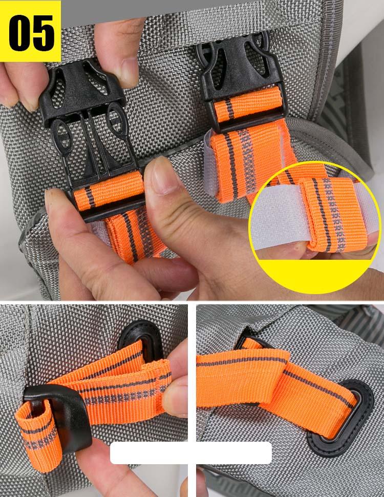 Truelove Pet Dog Life Jacket Vest Flotation Device Safety Adjustable Reflective Secure Swimwear Dog Life Saver french bulldog (8)