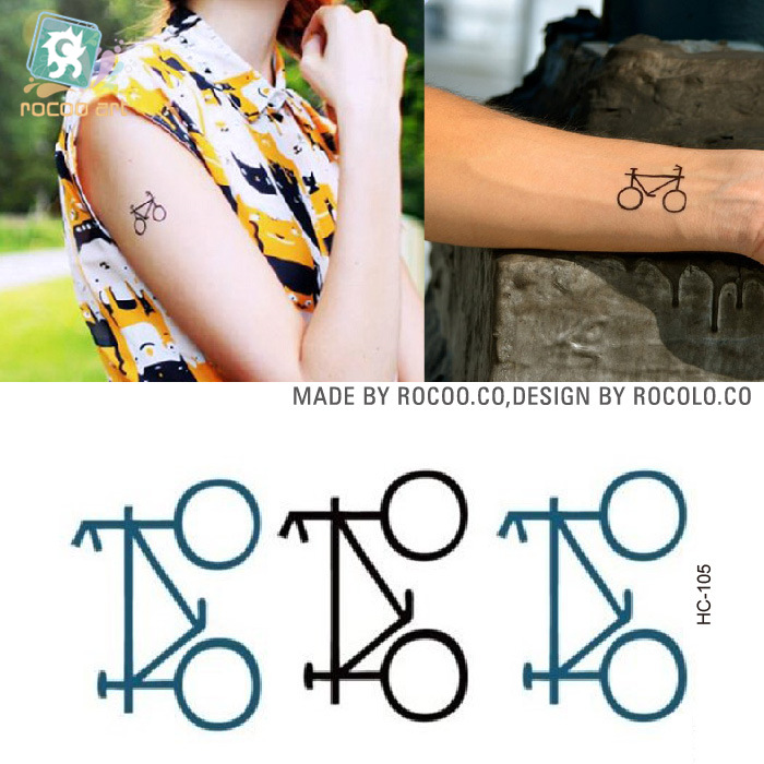 Aprende Tatuaje Profesional V1 0 ⑤2 unids/lote desechables impermeable tatuaje pequeño tatuaje