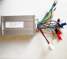 Silent 60/120 Angle  24v 36v 48v 500W BLDC Controller E bike Hub motor controller