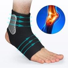 1 pc 발 뒤꿈치 쿠션 발바닥 근막 염 발 뒤꿈치 박차 통증 스포츠 양말 남성 여성을위한 아킬레스 tendonitis 발 관리 도구를 완화