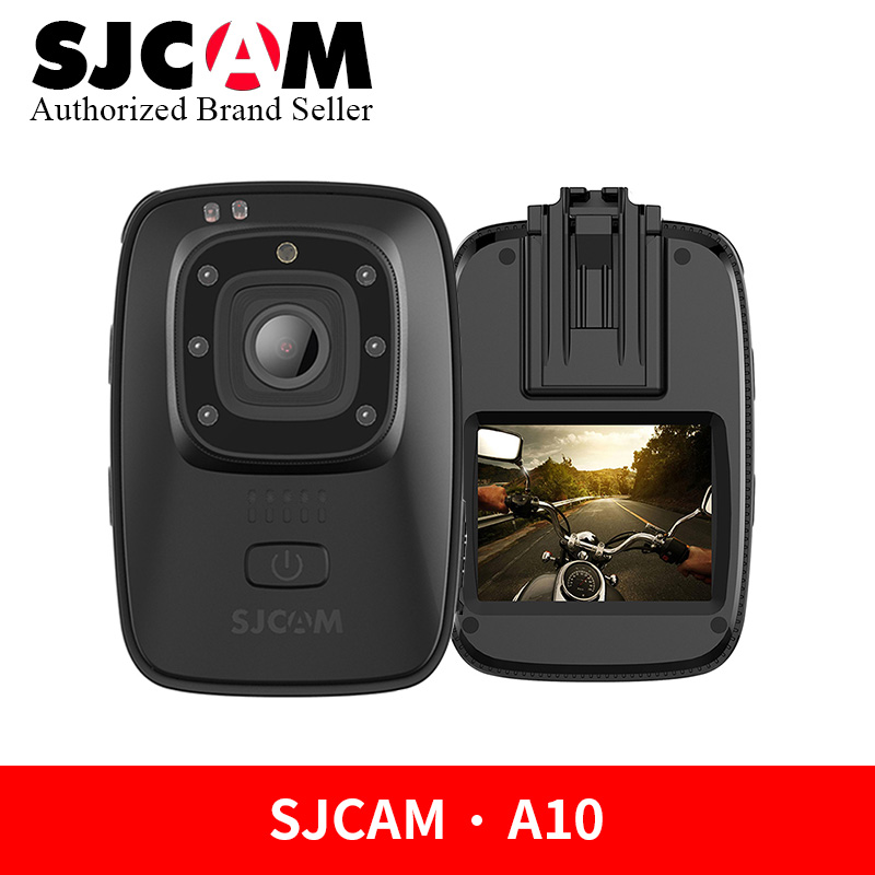 Здесь можно купить  SJCAM A10 Portable Camera Wearable Body Cam Infrared Security Camera Night Vision Laser Positioning WIFI Action Sports Camera  Бытовая электроника