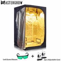 Mastergrow led crescer luz interior hidroponia crescer tenda, crescer quarto caixa planta crescer, reflexivo mylar não jardim estufas tóxicas