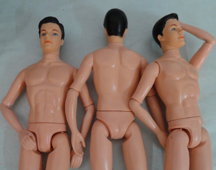Naked Men With Ken Doll Bodies
