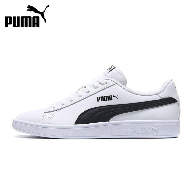e072be555 Original nueva llegada 2019 PUMA Smash v2 L Unisex zapatos de skate zapatos  zapatillas de deporte