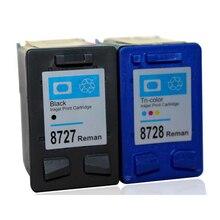 Para HP PSC 27 28 C8727A C8728A HP28 HP27 XL Negro Color 1310 1312 1315 1317 Deskjet 5160 5650 5652 Cartucho de Tinta de Impresora De Inyección De Tinta