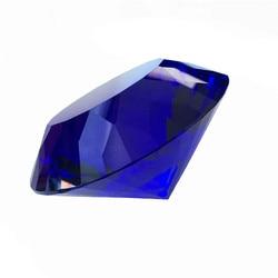 100mm 1 sztuk wieloaspektowy kryształ diament przycisk do papieru rzemiosło Dark Blue na centrum handlowym dekoracji gorąca już dziś