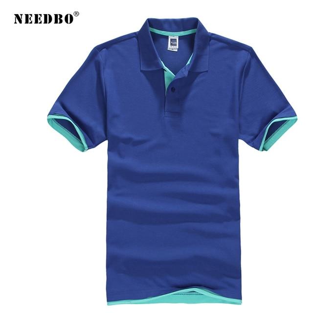Mais tamanho XS-3XL marca nova camisa polo masculina de alta qualidade camisa polo masculina algodão manga curta marcas camisas polo dos homens 2