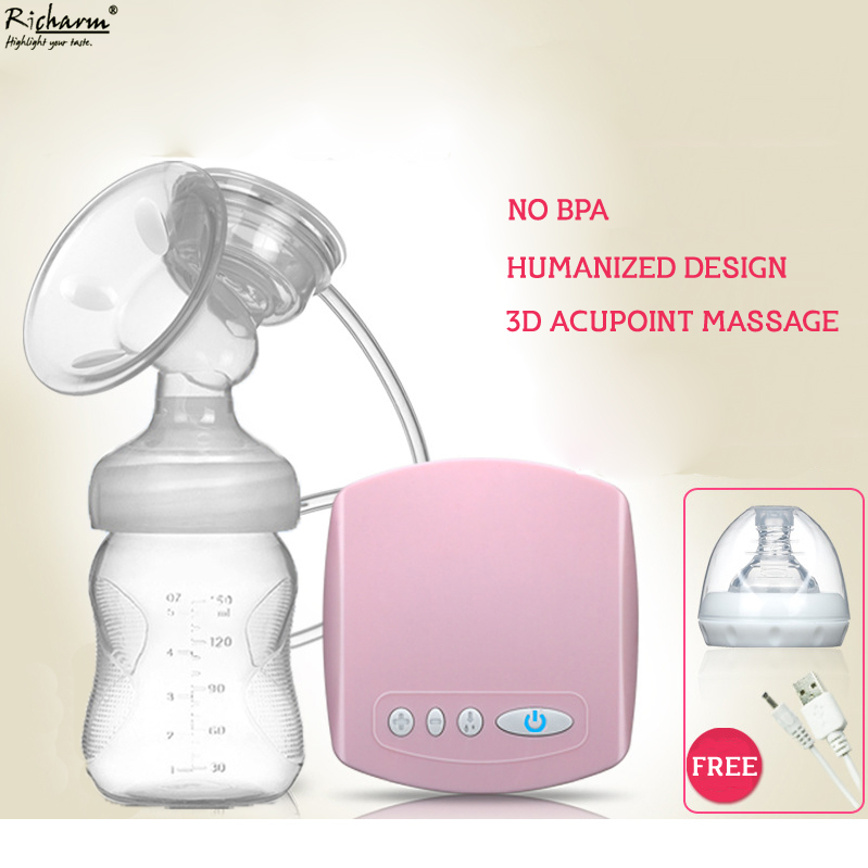 Automatic Mamadeira Milk Pumps Brand Electric Breast Pump Natural Suction Enlarger Kit Feeding Bottle USB Breast Pump Milksucker new manufacturer direct low price pink usb breast pump milk powerful nipple suction breast bottle feeding electric breast pumps