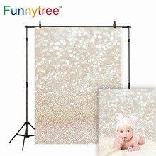 Funnytree фон для фотостудии золотой блеск Рождество абстрактный боке halo professional фон для фотосессий Пасха