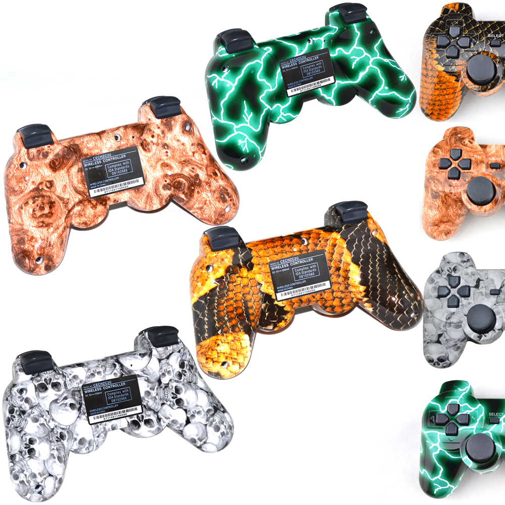 Camo Wireless virration Bluetooth Game Controller For sony playstation 3 for PS3 Wireless Controller Joystick Gamepad