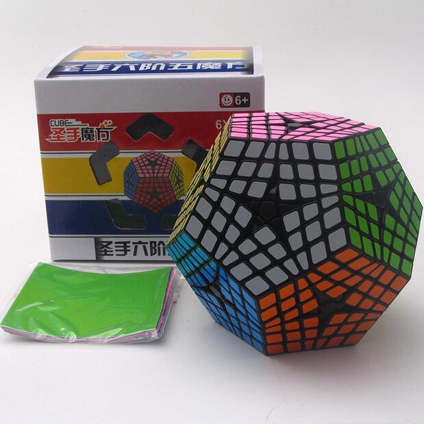 Cuberspeed Shengshou 6x6 Kilominx Black White Twist Shengshou Elite Kilominx Cube 6x6 Kilominx