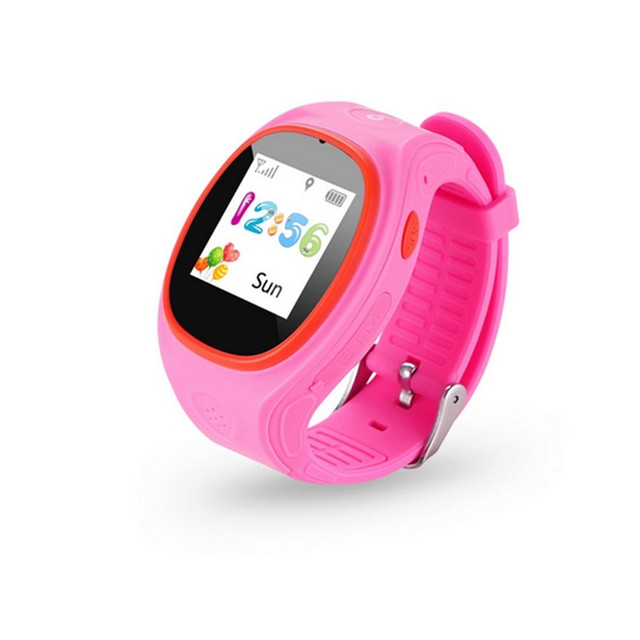 GPS Kids Smart Watch Children Wristwatch SOS Call Location Finder Locator Device Tracker for Kids Safe Anti Lost Monitor ETSB035