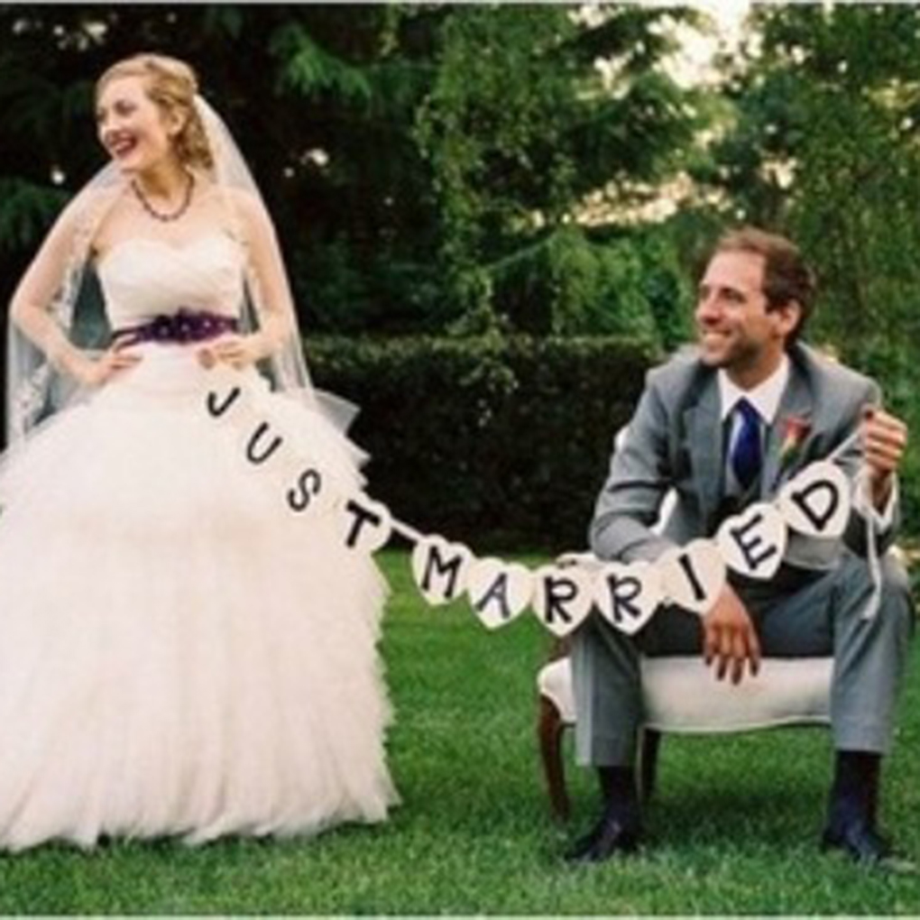 Limit buy Just Married Wedding Car Cling Decal Sticker Window Banner Decoration