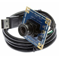 720P cmos OV9712 MJPEG micro webcam usb hd camera module with MIC microphone for smartphone