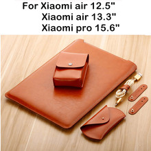 Sleeve Bag For Xiaomi Mi Air 12.5 13.3 Inch Mibook Pro 15.6 Laptop Pouch 12 13 15 Notebook Case Tablet PC Protective Cover Gift