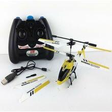 Rcヘリコプターs107gスタイル3.5 chでジャイロ合金三チャンネルリモートコントロール航空機fswb