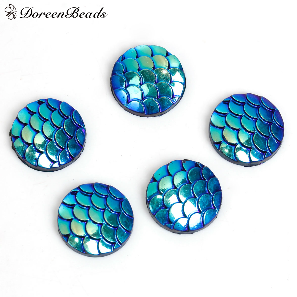 doreenbeads-resin-mermaid-fish-dragon-scale-dome-seals-cabochon-round-blue-ab-color-12mm-fontb4-b-fo