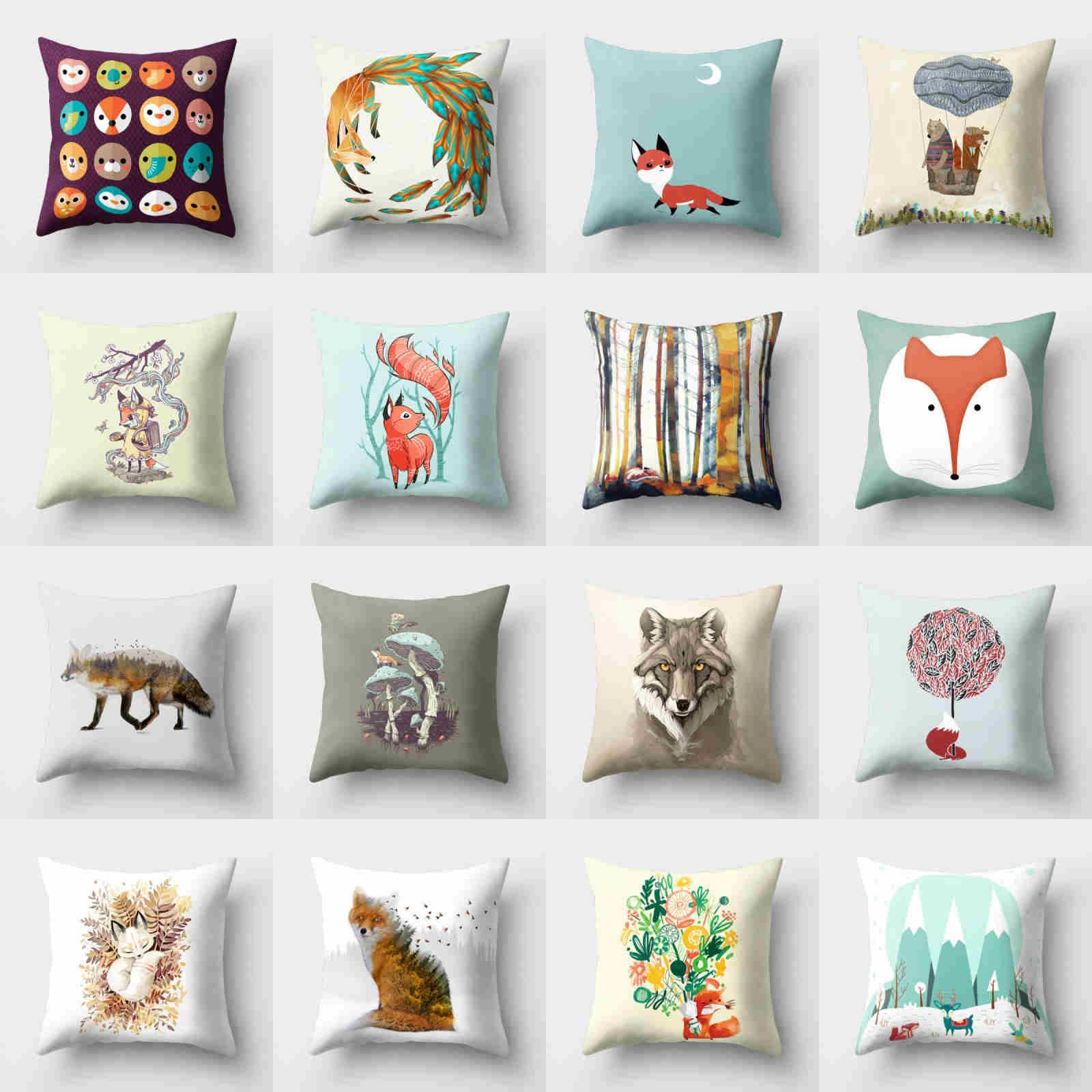 Pillow Decor 18/'/' Cushion Home Polyester Waist Case Sofa Cover Throw