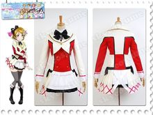 Love Live! Lovelive School Idol Project Koizumi Hanayo Uniform Dress Halloween Anime Cosplay Costume For Women Costumes